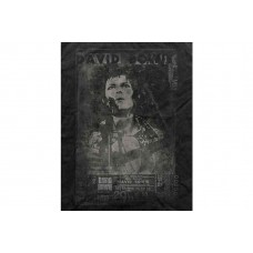 David Bowie : Vtge Ziggy Live (Black) (T-Shirt)