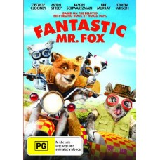 Fantastic Mr Fox : Fantastic Mr Fox (DVD) Second Hand