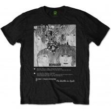 Beatles : Revolver 8 Track (Black) (T-Shirt)
