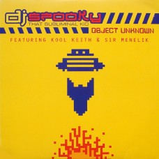 Dj Spooky That Subliminal Kid : Object Unknown (12 Single) Second Hand""