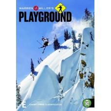 Warren Miller's Playground : Warren Miller's Playground (DVD) Second Hand