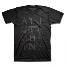 Alice In Chains : Alice Snakes (Black) (T-Shirt)