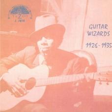 Various : Guitar Wizards 1926-1935 (Vinyl)