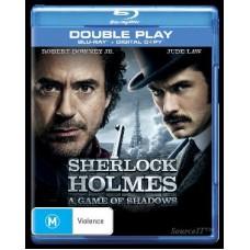 Sherlock Holmes: A Game Of Shadows : Sherlock Holmes: A Game Of Shadows (Blu-Ray DVD) Second Hand