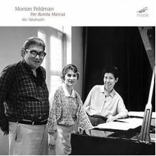 Aki Takahashi : Feldman: For Bunita Marcus (CD)