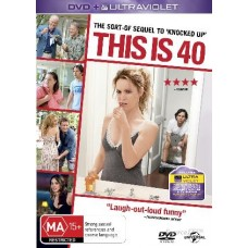 This Is 40 : This Is 40 (Blu-Ray DVD) Second Hand