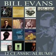 Bill Evans : 12 Classic Albums 1956-1962: 6CD (CD Box Set)