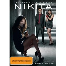 Nikita: The Complete Third Season 4 Disc : Nikita: The Complete Third Season 4 Disc (Blu-Ray DVD) Second Hand