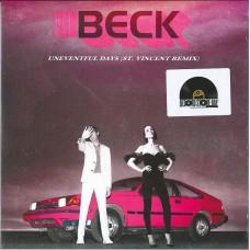 """Beck : Uneventful Days (St Vincent Remix) / No (7 Single)"""""""