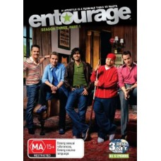 Entourage: Season Three, Part 1 3DISC : Entourage: Season Three, Part 1 3 Disc (DVD) Second Hand