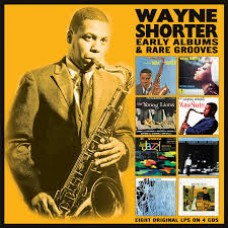 Wayne Shorter : Early Albums and Rare Grooves: 4CD (CD Box Set)