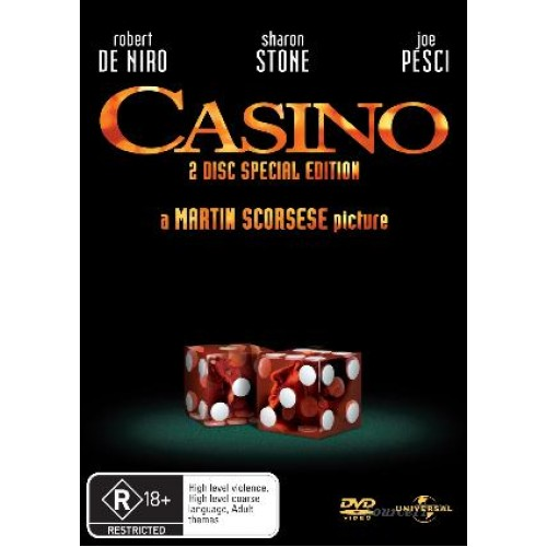 Casino : Casino (Blu-Ray DVD) Second Hand