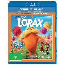 Lorax: Blu-Ray 3D + Blu-Ray + Dvd : Lorax: Blu-Ray 3D + Blu-Ray + Dvd (Blu-Ray DVD) Second Hand