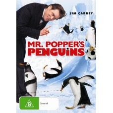 Mr. Popper's Penguins : Mr. Popper's Penguins (DVD) Second Hand