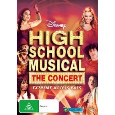 High School Musical: The Concert : High School Musical: The Concert (DVD) Second Hand