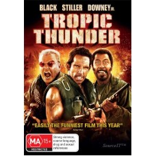 Tropic Thunder: Director's Cut : Tropic Thunder: Director's Cut (Blu-Ray DVD) Second Hand