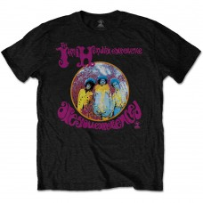 Jimi Hendrix : Are You Experienced (Black) (T-Shirt)