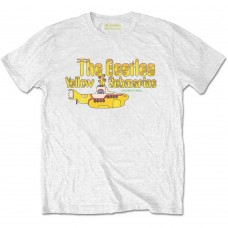 Beatles : Nothing Is Real (White) (T-Shirt)