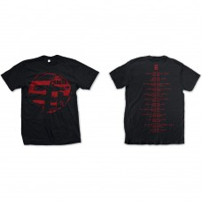 Cure : Eastern Red Logo (Black) (T-Shirt)