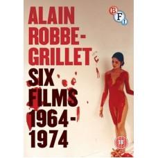 Alain Robbes-Grillet: Six Films 1964-197 : Alain Robbes-Grillet: Six Films 1964-197 (DVD Box Set)