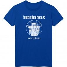Beastie Boys : Intergalactic (Blue) (T-Shirt)