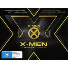 X-Men: The Ultimate Collection (5 Movie : X Men-All Five Movies (Blu-Ray DVD)