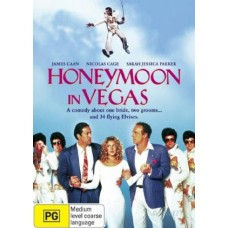 Honeymoon In Vegas : Honeymoon In Vegas (DVD) Second Hand