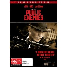Public Enemies : Public Enemies (Blu-Ray DVD) Second Hand