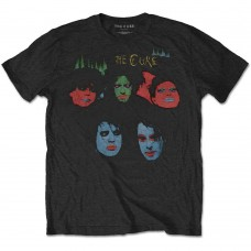 Cure : In Between Days (Black) (T-Shirt)