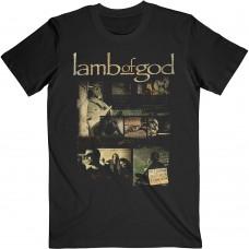 Lamb Of God : Album Collage (Black) (T-Shirt)