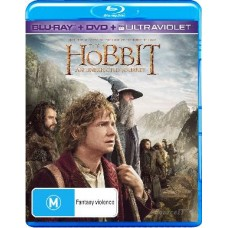 Hobbit: An Unexpected Journey : Hobbit: An Unexpected Journey (Blu-Ray DVD) Second Hand
