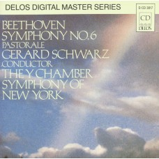 Beethoven -Gerard Schwarz : Symphony No. 6 (Pastorale) (CD) Second Hand