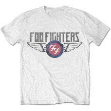 Foo Fighters : Flash Wings (White) (T-Shirt)