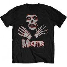 Misfits : Packaged Hands (Black) (T-Shirt)