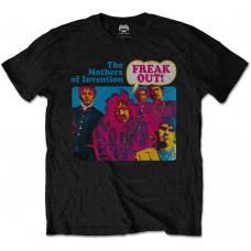 Frank Zappa : Freak Out! (Black) (T-Shirt)
