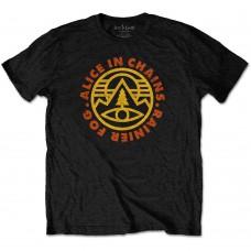 Alice In Chains : Pine Emblem (Black) (T-Shirt)