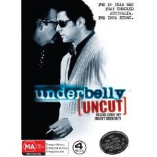 Underbelly: [uncut] 4 Discs : Underbelly: [uncut] 4 Discs (DVD) Second Hand