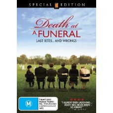 Death At A Funeral : Death At A Funeral (DVD) Second Hand