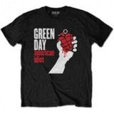 Green Day : American Idiot (Black) (T-Shirt)