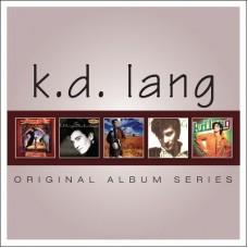 K.D. Lang : Original Album Series: 5CD (CD Box Set)