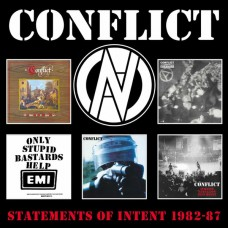 Conflict : Statements Of Intent 1982-87: 5CD (CD Box Set)