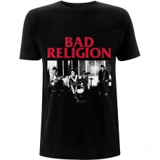 Bad Religion : Live 1980 (Black) (T-Shirt)