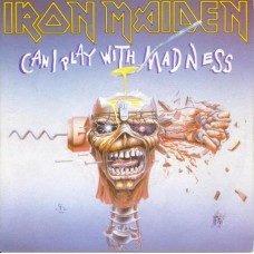 Iron Maiden : Can I Play With Madness / Black Bart Blu (7 Single) Second Hand""