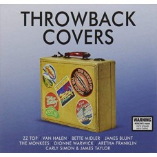 Various : Throwback Covers: 4CD (CD Box Set)