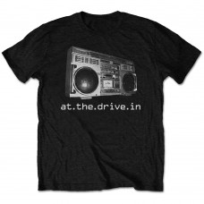 At The Drive-In : Boombox (Black) (T-Shirt)