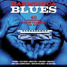 Various : Harmonica Blues: 2CD (CD)