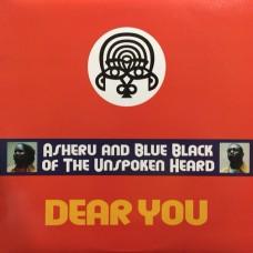 "Asheru and Blue Black : Dear You (12 Single) Second Hand"""