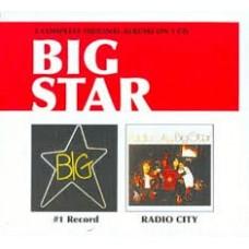 Big Star : #1 Record / Radio City (CD)