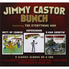 Castor, Jimmy Bunch : Butt Of Course / Supersound / E-Man (CD)