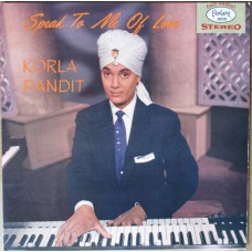Korla Pandit : Speak To Me Of Love (Vinyl) Second Hand